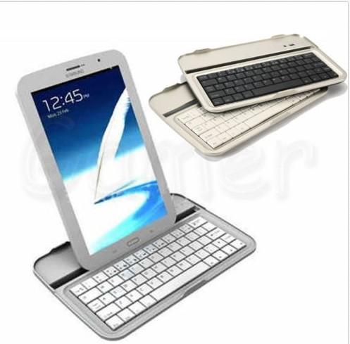 8a823bdc497 Bluetooth Keyboard Metal Case Shell Stand For Samsung Galaxy Note 8.0 GT- N5100 N5110 White/Black N5100 Bluetooth ...