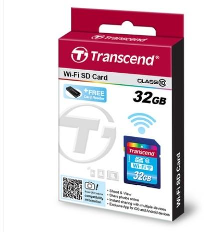 transcend sdhc wifi wireless flash memory card 16gb 32gb. Black Bedroom Furniture Sets. Home Design Ideas