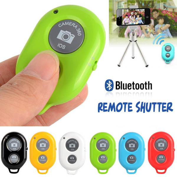Universal Self-timer Wireless Camera Bluetooth Remote Shutter Controller For IPhone 5 5S Samsung