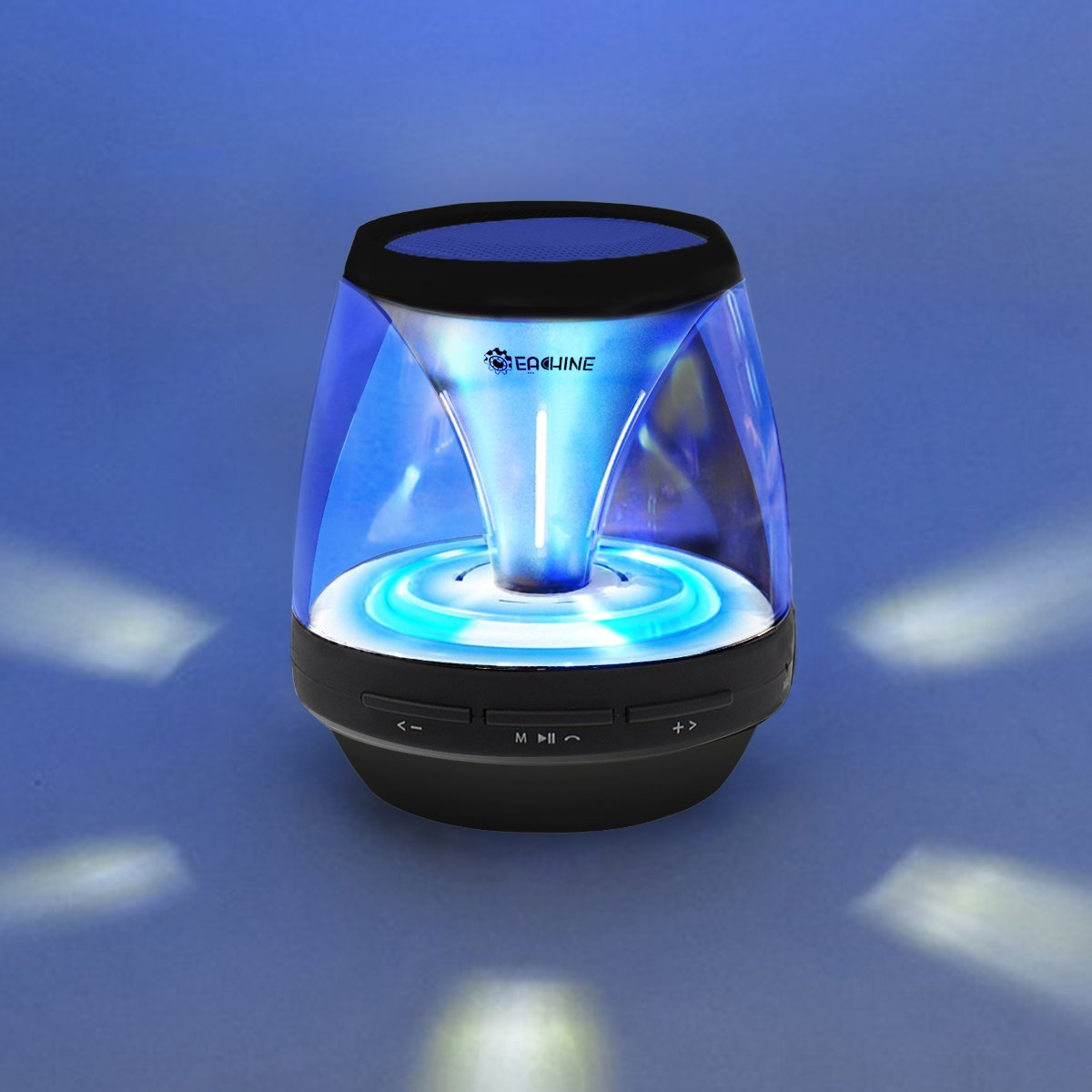 Wireless Speakers With Lights Wire Center Blinking Led Circuit Circuitdiagramorg New Vivid Jar Portable Bluetooth Speaker Rh Ksrplayer Net Disco