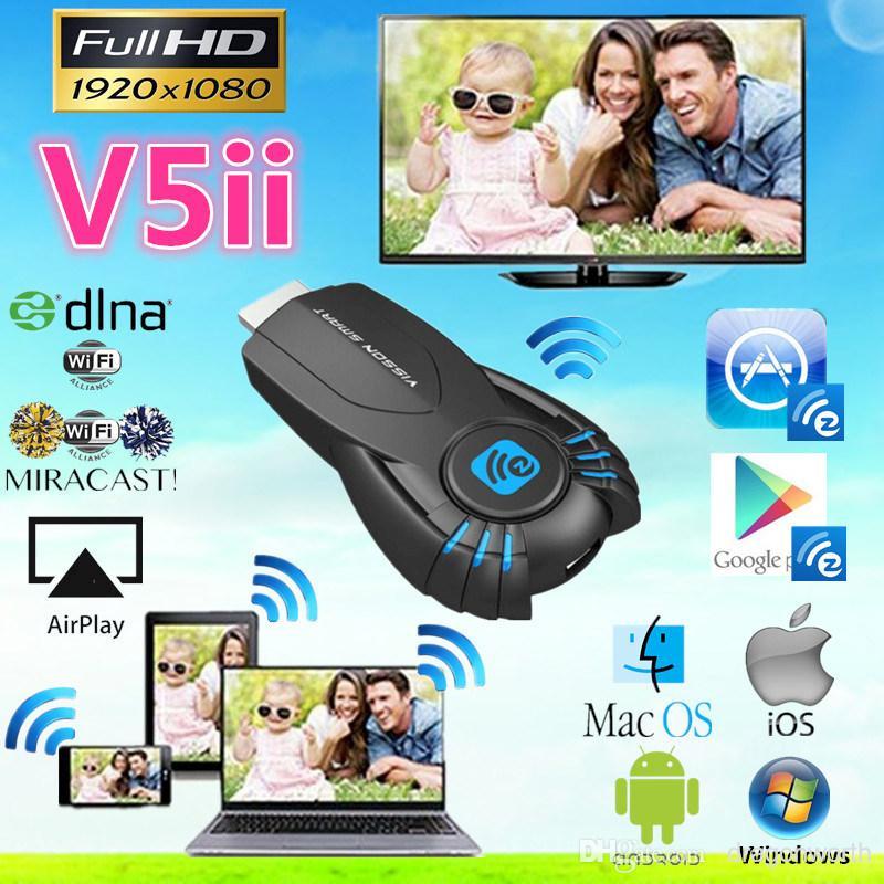 Vsmart V5ii Ezcast Smart TV Stick Media Player with function