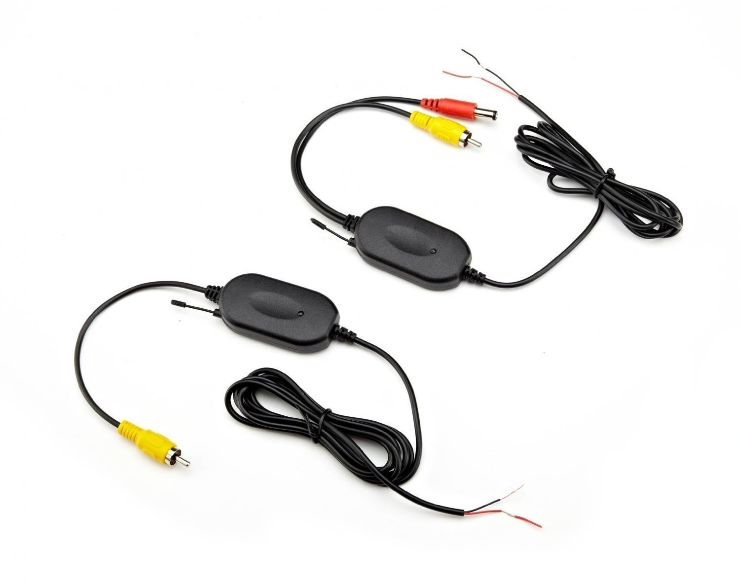 24g Wireless Color Video Transmitter And Receiver For The Vehicle Audio Backup Camera Front