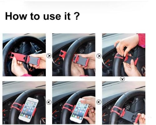 how to put a steering wheel on a bike