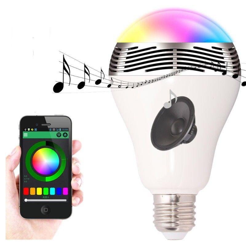 Wireless Bluetooth Smart LED Night Light Bulb Audio Music Lamp WiFi App  Control. Wireless Bluetooth Smart LED Night Light ...