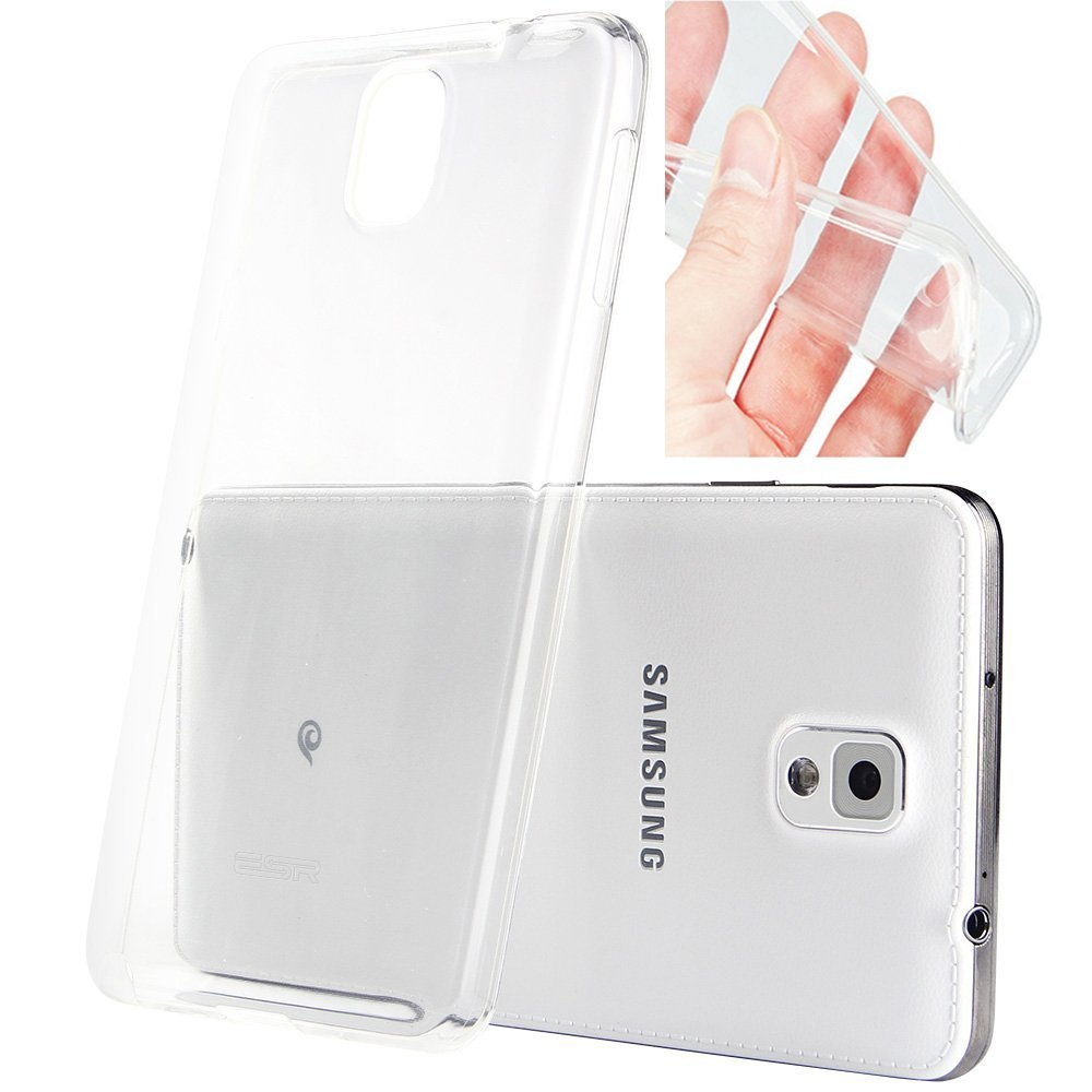 best sneakers 8ceb4 fe895 Ultra Thin Slim Crystal Clear Soft TPU Back Cover Transparent Fitted ...