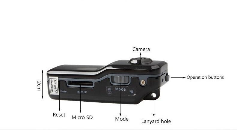 MD81S WiFi Camera Mini DV Wireless IP Camera HD Micro Spy Hidden Cam