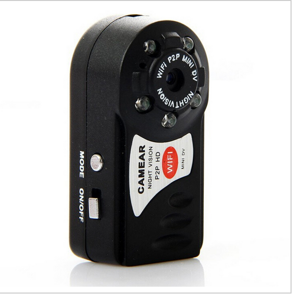 Mini DV WiFi Camera Q7 Wireless WIFI/P2P Network Surveillance Video