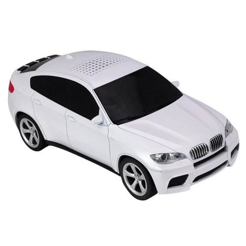 bmw x6 car model portable bluetooth wireless stereo music. Black Bedroom Furniture Sets. Home Design Ideas