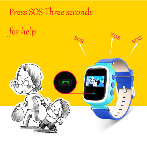 Q60 Smart Watch Wristwatch SOS Call Location Finder Locator