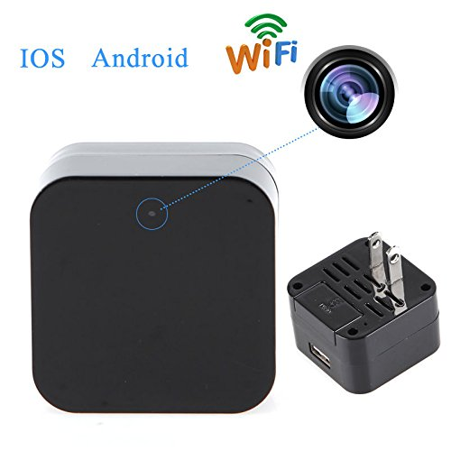 New 1080p Wifi Ip Mini Spy Charger Camera Real Wall Ac
