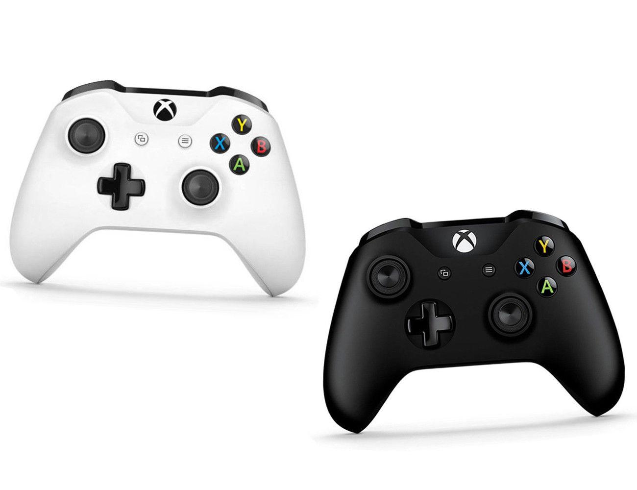 Xbox One S Microsoft Controller Glacier Wireless Black